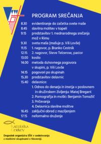 2. vseslovensko srečanje mož, očetov in sinov program