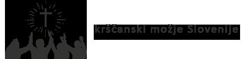 Krščanski možje Slovenije Logo